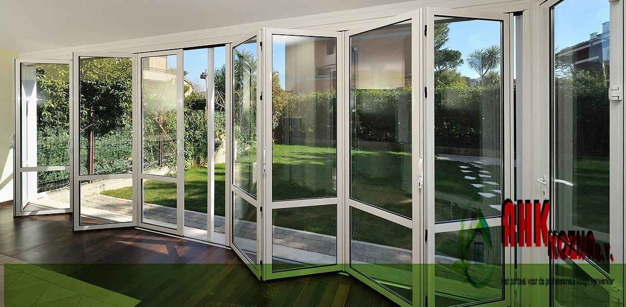harmonicadeuren, vouwwanden , harmonicadeuren, kunststof deuren, aluminium deuren, houten deuren, hout, kunststof, aluminium,