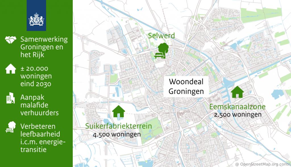 Groningen sluiten woondeal: snel 20.000 woningen erbij