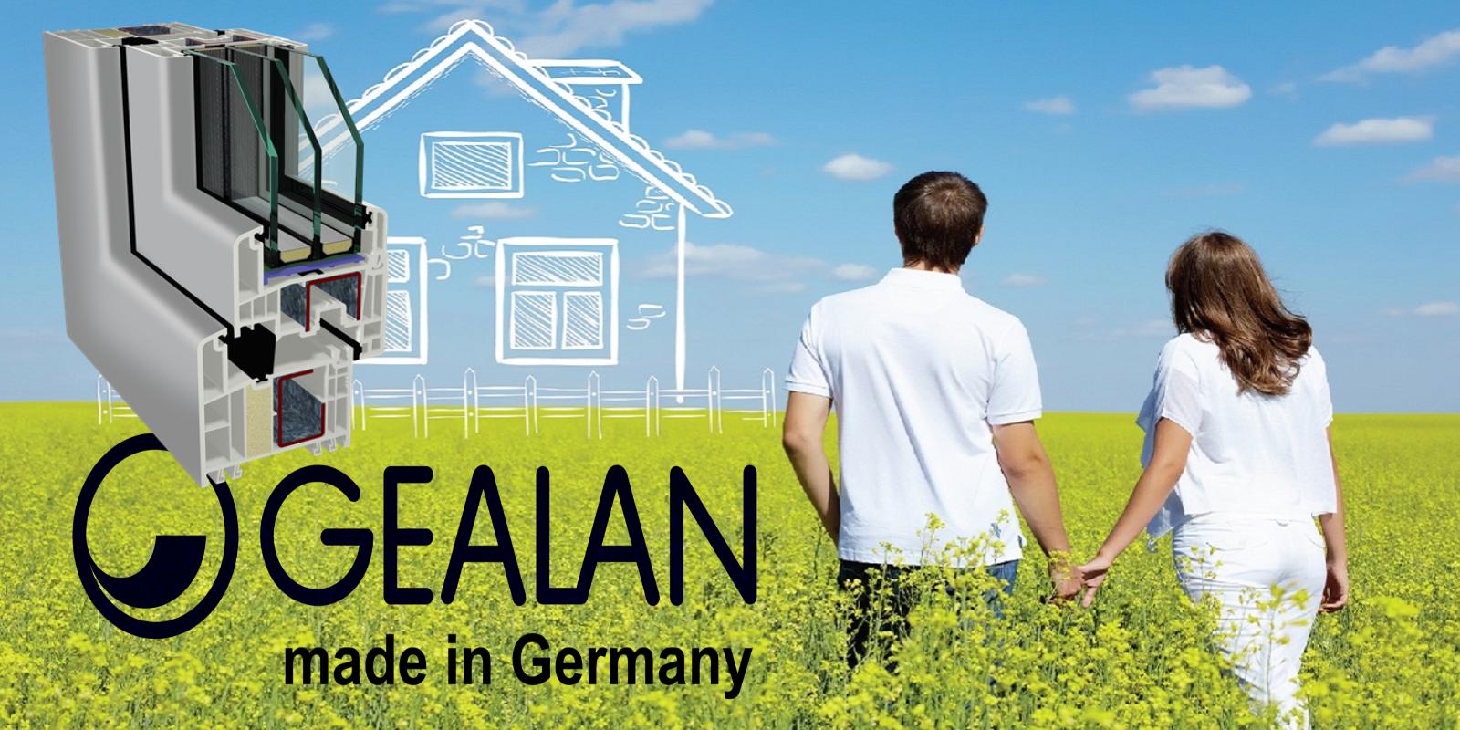 Gealan kozijnen, kozijnen van Gealan, ramen Gealan, Gealan productie, Gealan leverancier ,kunststof kozijnen van Gealan, wie is Gealan, kunststof ramen van Gealan,