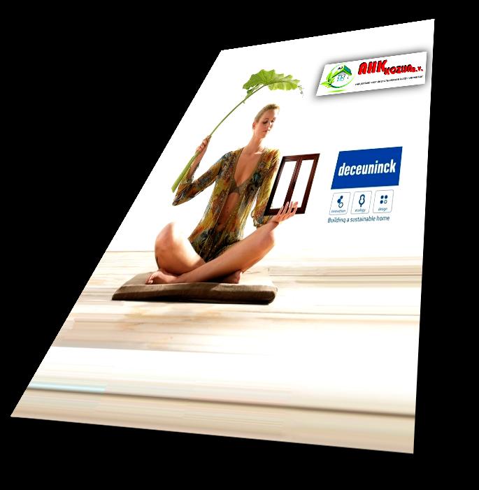 RAMEN & DEUREN magazine, flyer deceuninck, folder deceuninck, informatie deceuninck, brochure deceuninck,