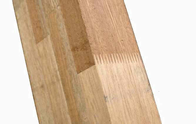 vingerlassen, houtmodificatie, vingergelast gemodificeerd hout, vingerverlijming hout
